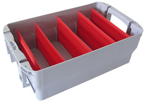 Briefbehälter Typ 1 Trennfächer